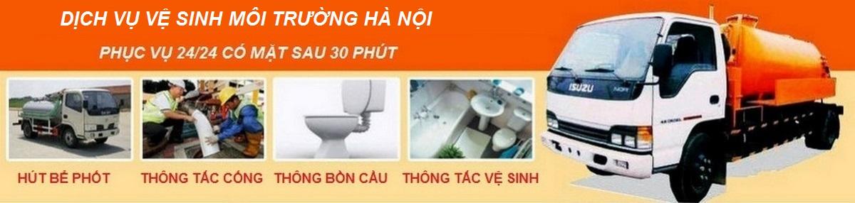Hút bể phốt ở tại Hà Nội giá rẻ sạch sẽ - 0982.048.578